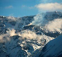 Mt St Helens Crater by Olga Zvereva