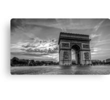 Arc De Triomphe 6 Canvas Print