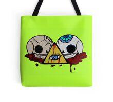 All Seeing Skulls Tote Bag
