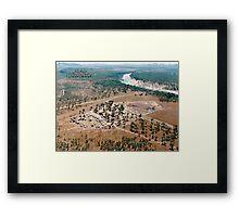 Bowen River Rodeo © Vicki Ferrari Framed Print