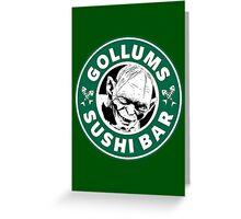 Gollums Sushi Bar Greeting Card