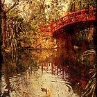 Kawasaki Bridge at Wollongong Botanic Gardens  - ghost by Vanessa Pike-Russell