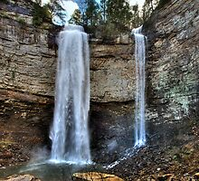 Fall Creek Falls from Below by Bob Melgar