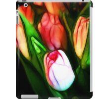 Abstract Pink Tulips iPad Case/Skin