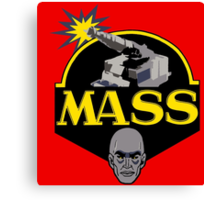 M.A.S.S. The Ultimate Weapon Canvas Print