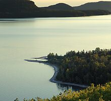 Quiet Evening at Nipigon Bay by George Cousins