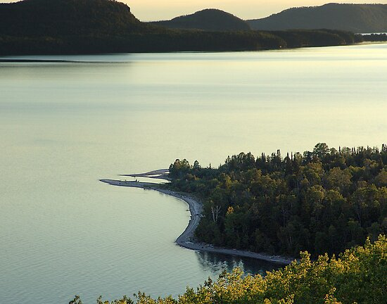 Quiet Evening at Nipigon Bay by George Cousins