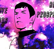 Live Long and Prosper - Spock (Galaxy) by VixenTheSecond
