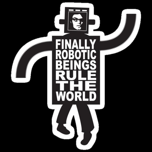 Robotic Beings - Jemaine by tastypaper