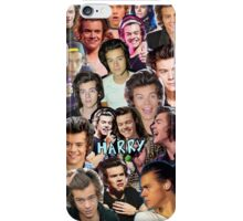 Harry Collage 1 iPhone Case/Skin