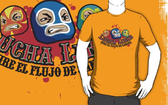 Mexican Wrestlers... Watch the blood flow by satansbrand