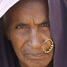 Old Indian woman by John Keates