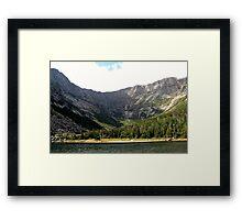 Mount Katahdin Framed Print