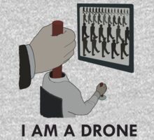 Muse - Drones Artwork (I AM A DRONE) by Cpotey