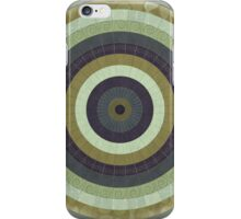 Illustrated Stylized Radial Pattern iPhone Case/Skin