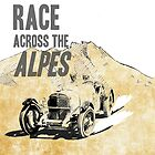 Race across the Alpes by RikReimert