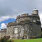 St Mawes Castle, East Side Bastion by Rod Johnson