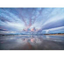Sunset Blush Photographic Print