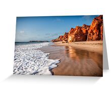 Cape Leveque Sunset Greeting Card