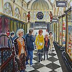Royal Arcade, Melbourne (2) by Virginia  Coghill