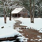 CARTER SHIELDS CABIN by Chuck Wickham