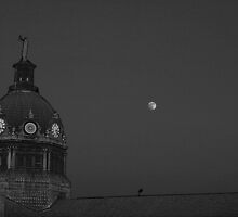 BInghamton Courthouse Black and Whtie by GPMPhotography