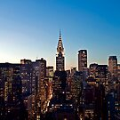 Manhattan Sunset by vinaixa