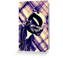 666th Giger Squadron Greeting Card