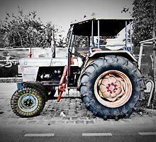 berlin hippy tractor by mark burban