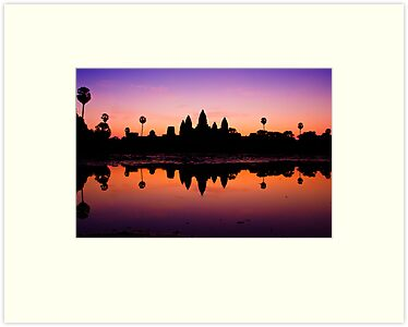 Angkor Wat Sunrise by vinaixa