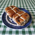 A Foretaste of Easter - Spicy Hot Cross Buns by BlueMoonRose