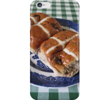 A Foretaste of Easter - Spicy Hot Cross Buns iPhone Case/Skin