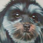 friends dog Rubi by milsey