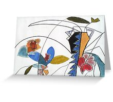 Flora Delight Greeting Card