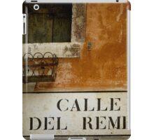 MERCHANT OF VENICE - A Random Alley iPad Case/Skin