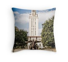 The University of Texas Tower Throw Pillow