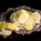 Classical Lemon and Silver by Catherine  Burke
