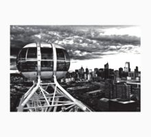 Melbourne Star View BW T-Shirt