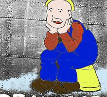 """OOR WULLIE"" noseart by Woodie"