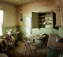 Kitchen Abandoned - The ghost town of Bodie by Harry Snowden