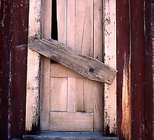 Exterior Door - The ghost town of Bodie by Harry Snowden