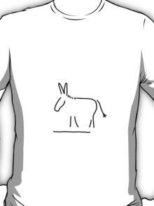 donkey stubbornness T-Shirt