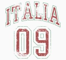 Italia 09 t shirt by ItalianPride
