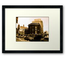 "The Masonic Temple (known locally as the ""Mason Building"") Framed Print"