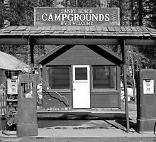 Sandy Beach Campgrounds - Tahoe Vista, California by Harry Snowden