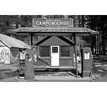 Sandy Beach Campgrounds - Tahoe Vista, California Photographic Print