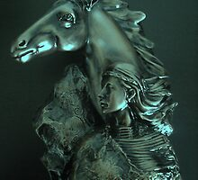 Horse Woman by Dawn B Davies-McIninch