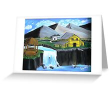 Oko's Sugar Plantation............ Greeting Card