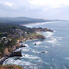 Cape Foulweather, Oregon by Englandken