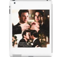 Glee: Klaine Wedding iPad Case/Skin